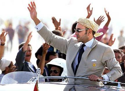 De Marokkaanse Koning Mohammed VI